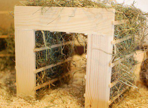 Image Result For Wooden Hay Rack Bunnies