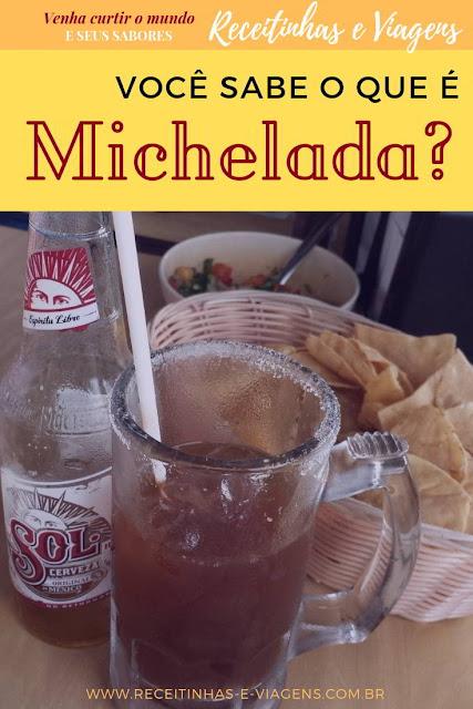 """Receita de drink michelada o """"chopp"""" mexicano"""