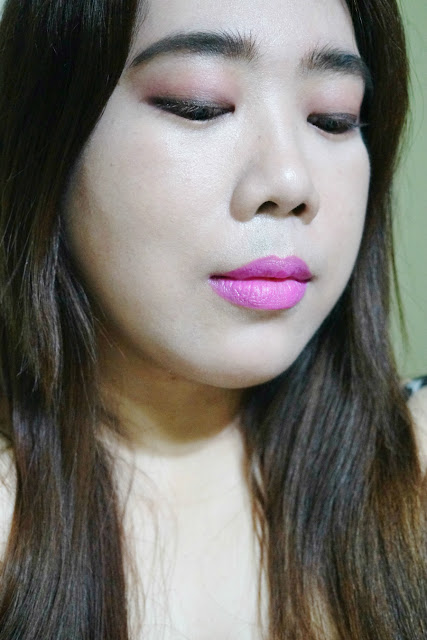 FOTD: Maybelline Color Jolt Matte Intense Lip Paint in 01 Don't Pink With Me