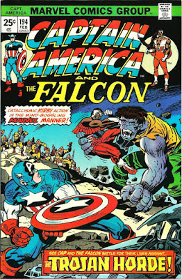 Captain America and the Falcon #194, Trojan Horde