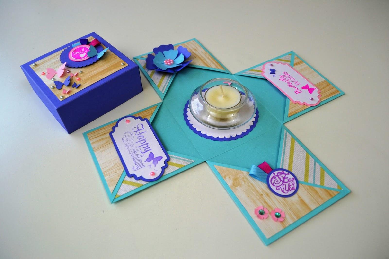 Giulia's Art - DIY Paper Crafts: New Exploding Box model ... - photo#41