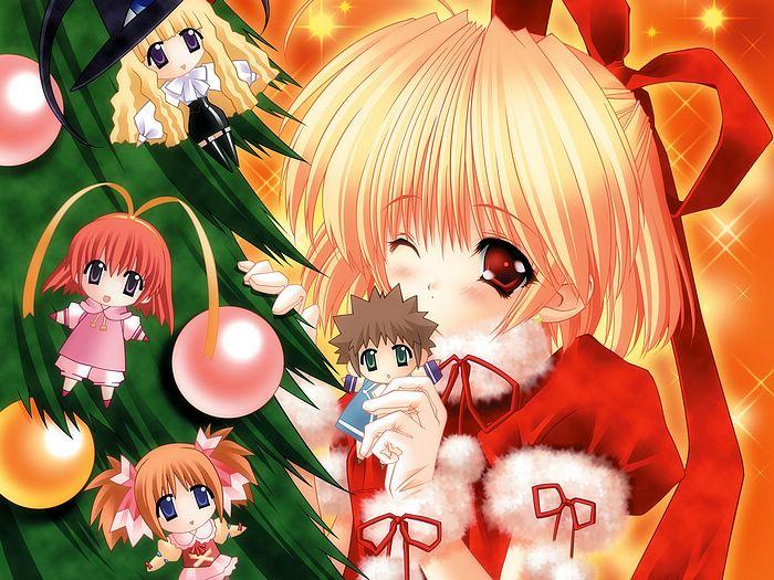 Manga christmas pictures - Anime girl christmas wallpaper ...