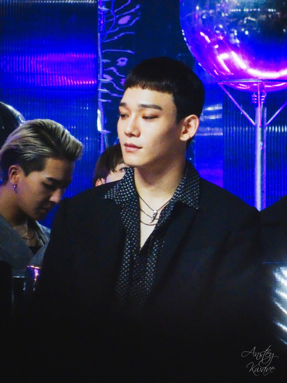 Chen, member of famous Korean k-pop boy band at Melon Music Awards (MMA) 2017 in Seoul, South Korea