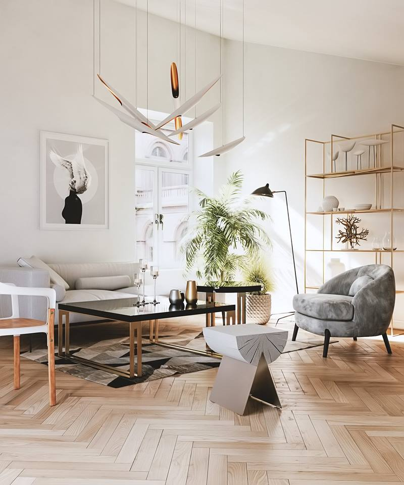 Interior Render by Oly Darko | Redshift Render Blog