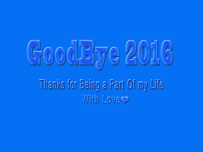 Bye Bye 2016 Wallpaper with Quotes