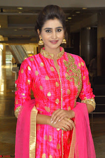 Shamili in Pink Anarkali Dress 07.JPG