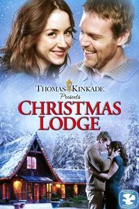 Poster Christmas Lodge
