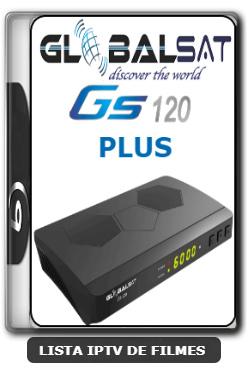 Globalsat GS120 Plus Nova Atualização IKS, SKS, VOD V1.47 - 14-03-2020