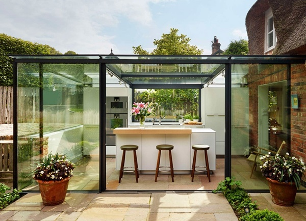 7 Great Ideas For Outdoor Kitchens - Eat Outdoors With Family 3