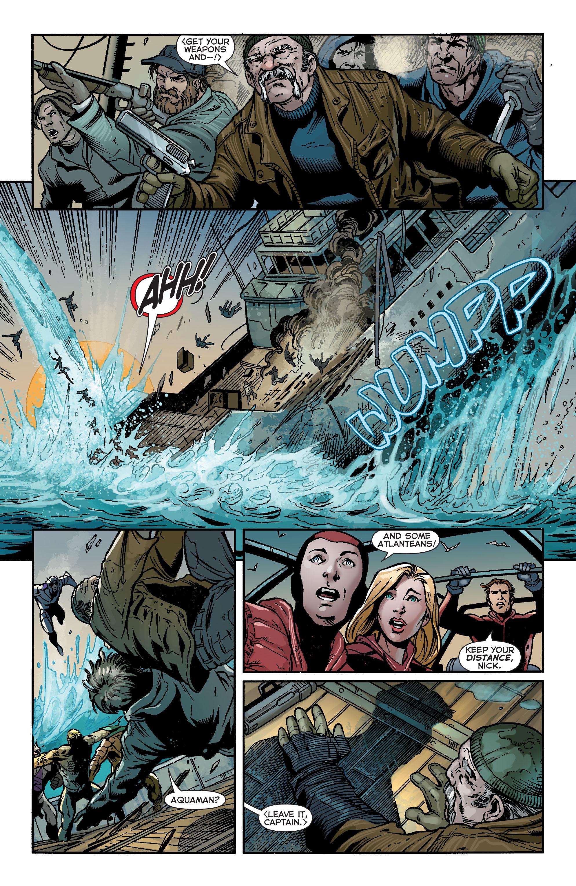 Read online Aquaman (2011) comic -  Issue #17 - 6