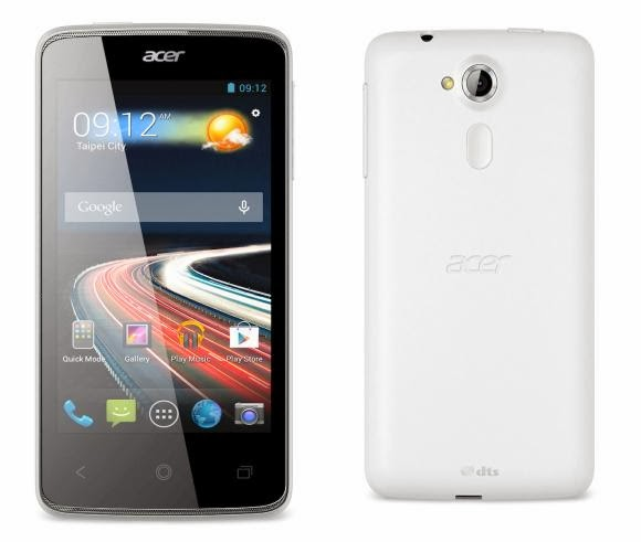 Spesifikasi dan Harga Acer Liquid Z4 Terbaru 2014