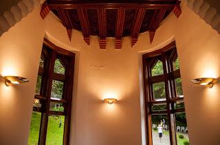 Interior de El Capricho