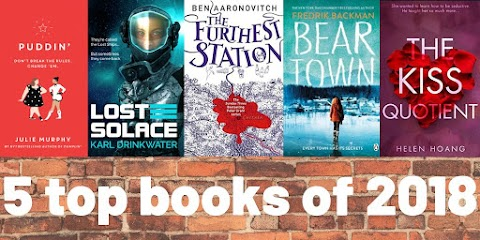 Five Top Books Of 2018