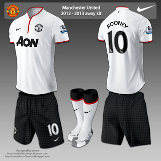 Manchester united 256x256 away kit