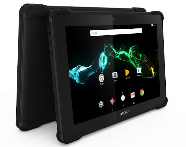 Archos 101 Saphir 2-in-1 Rugged Tablet launched officially, sports 10.1-inch display, 6000 mAh battery, and Android 7 Nougat