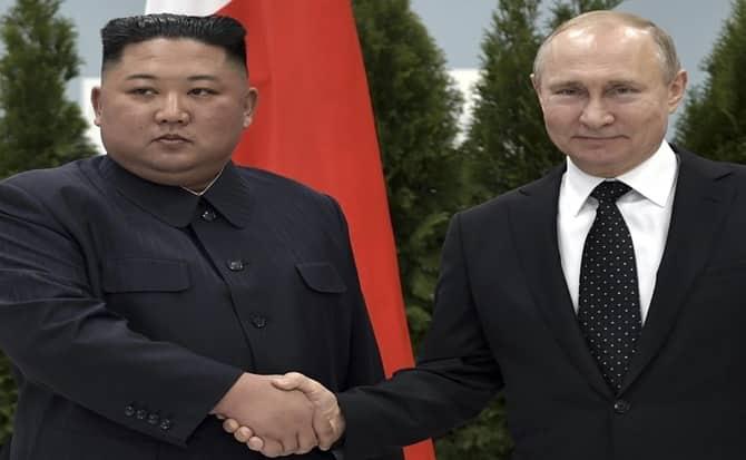 Rusia, corea del norte, eventos