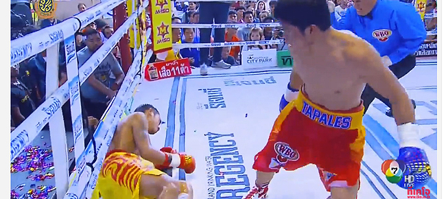 Marlon Tapales KOs Pungluang Sor Singyu to capture the WBO Bantamweight title (VIDEO)