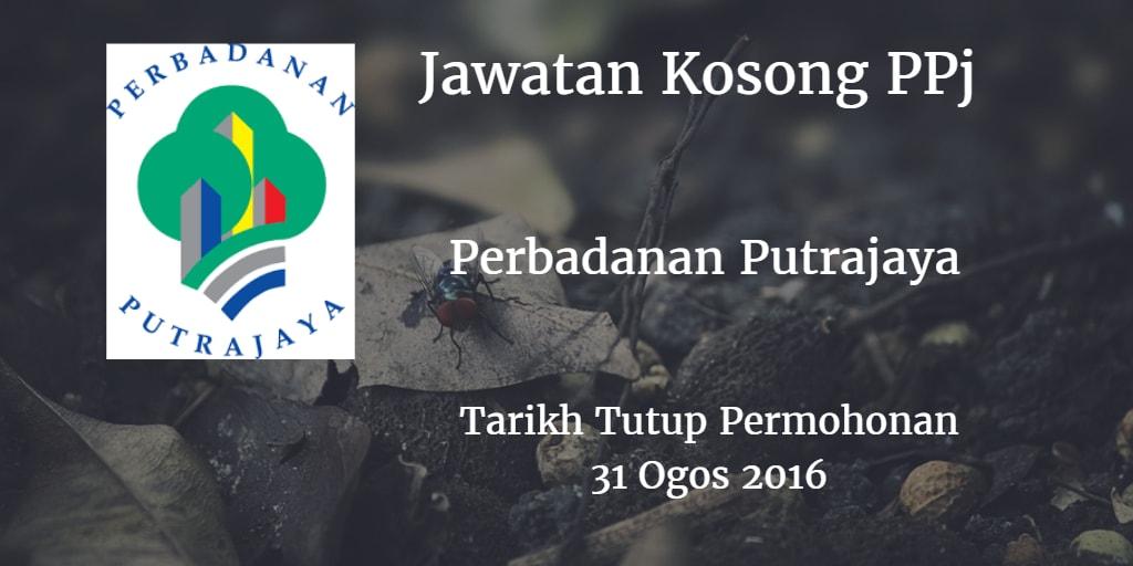 Jawatan Kosong PPj 31 Ogos 2016