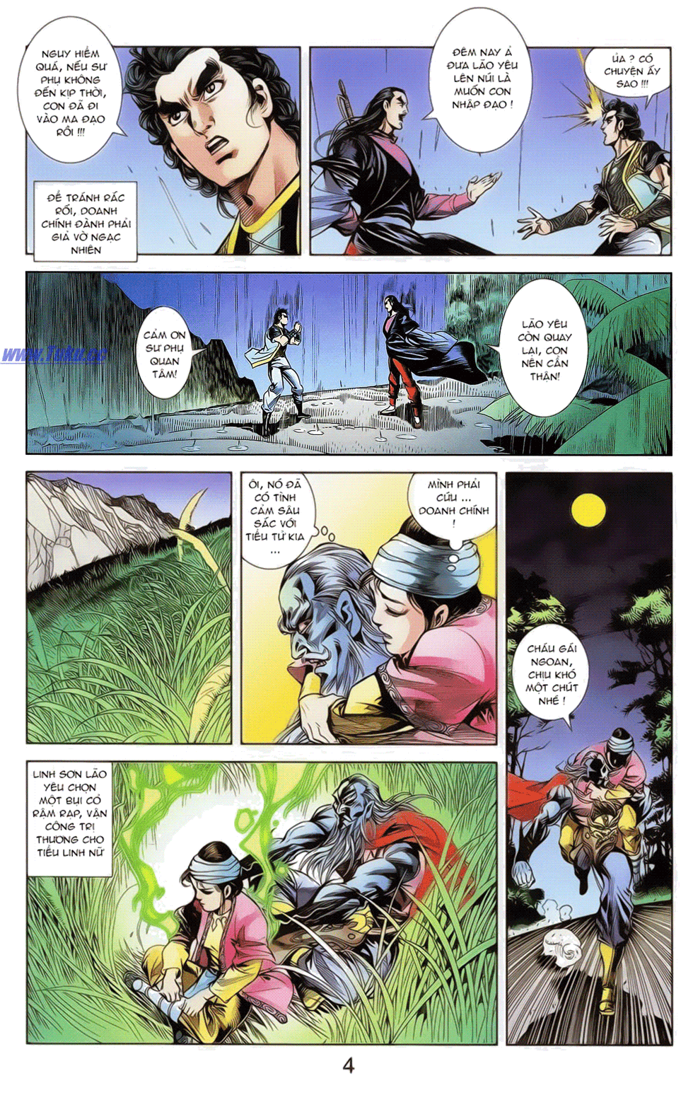 Tần Vương Doanh Chính chapter 19 trang 17