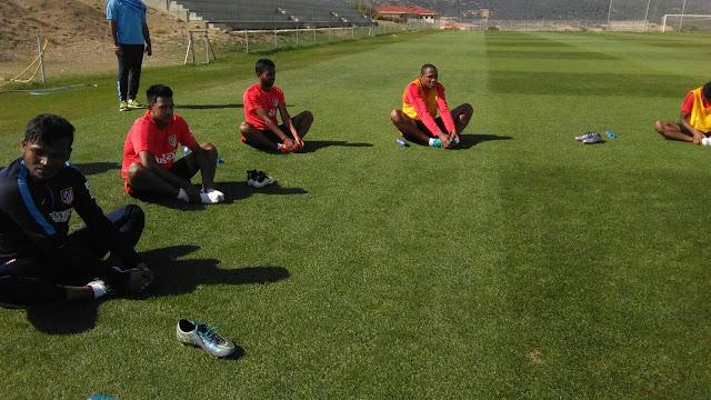 Atlético de Kolkata - Pre Season Training Pictures from Spain