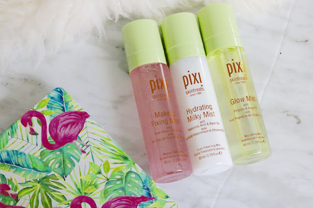 pixi mist review makeup fixing hydrating milky glow