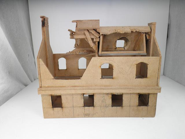 JOHN BOND's WARGAMING STUFF: DIY MDF BUILDINGS, Part 1 28mm