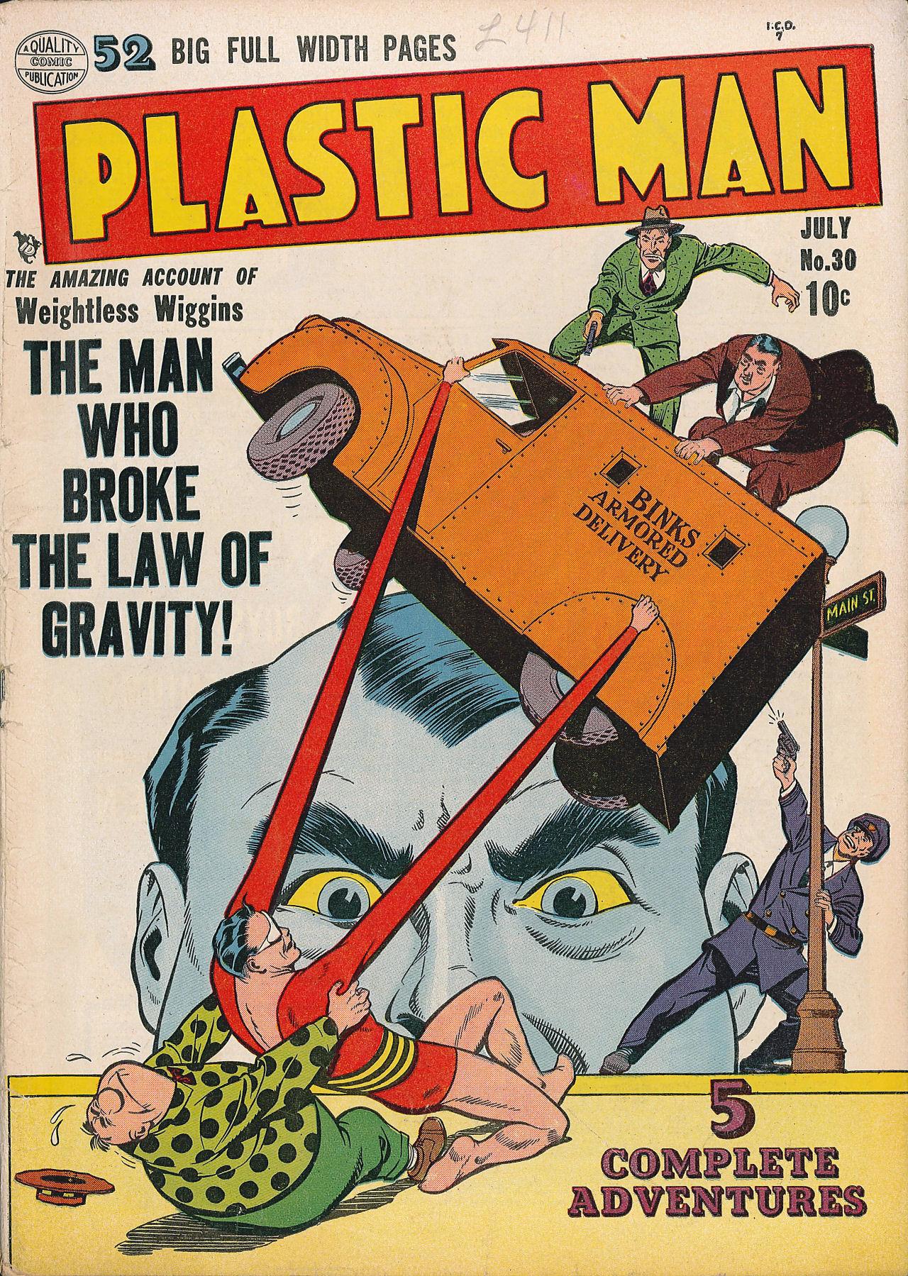 Plastic Man (1943) 30 Page 1