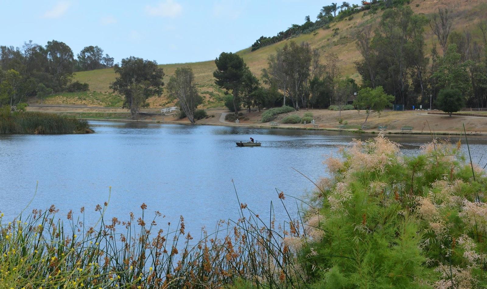 laguna niguel lake fishing feeling