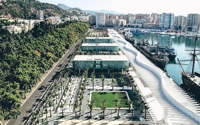 Muelle Uno e Muelle 2 em Málaga