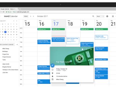 New Google Calendar Has Been Released