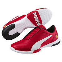 PUMA Scuderia Ferrari Kart Cat III Sneakers Men Shoe Auto New