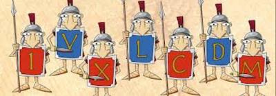 Crucigrama de números romanos
