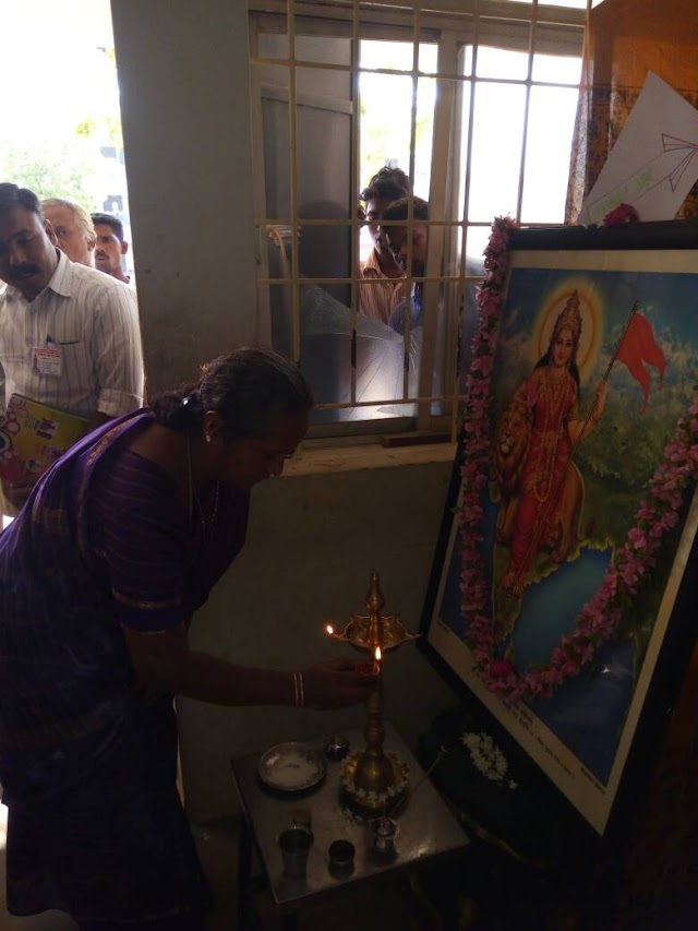 Exhibition inaugurated at RSS camp, Namakkal.
