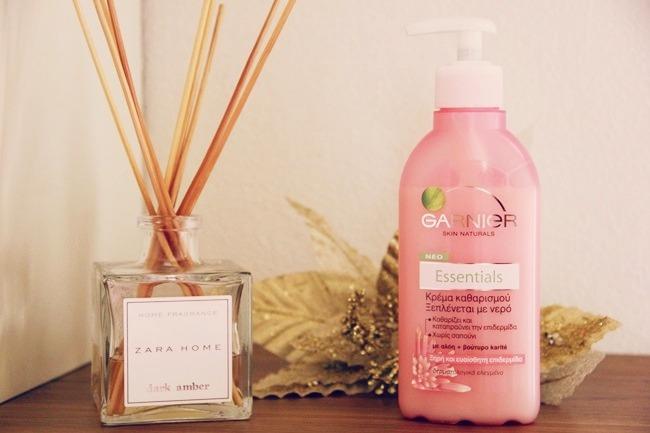 Garnier Essentials foaming cream wash soap-free
