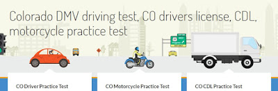 CDL-Colorado DMV driving test