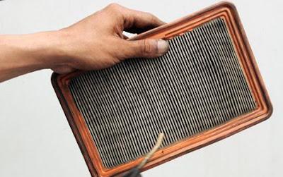 Hasil gambar untuk Filter Udara Yang Mampet