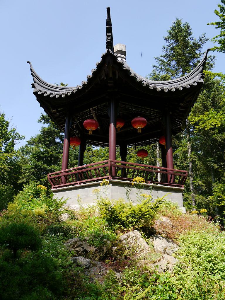 Nepal Pavillon