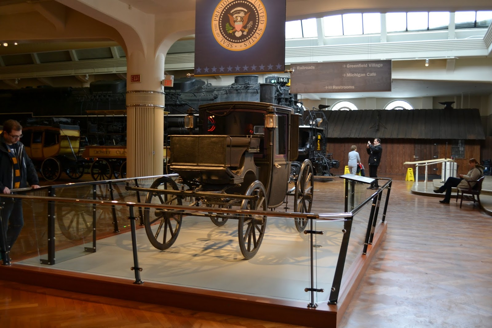 Музей Генри Форда - Автомобили Президентов США (Henry Ford Museum - Presidential Limousines)
