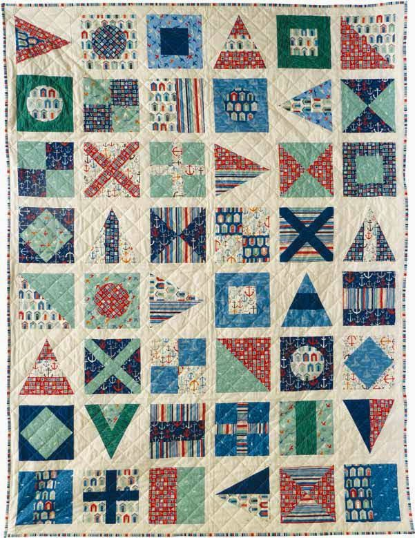 Quilt Inspiration: Free Pattern Day: Sailboats : nautical quilts - Adamdwight.com