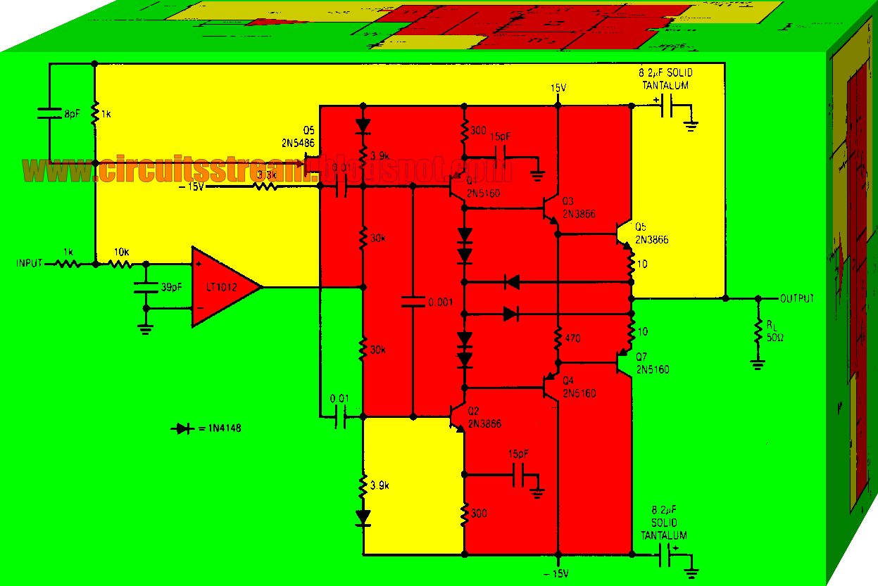 Current Booster Circuit Diagram