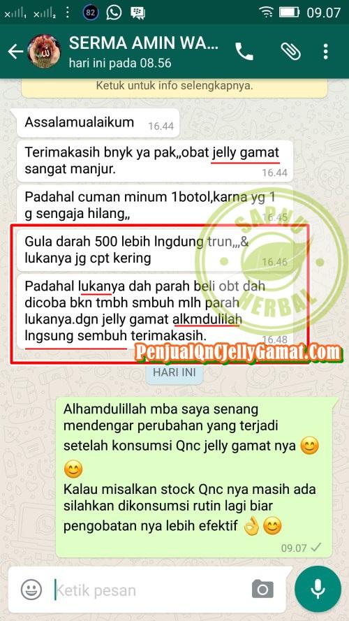 Cara Menyembuhkan Luka Borok Bernanah Dan Berair Secara Alami ~ Testimoni QnC Jelly Gamat