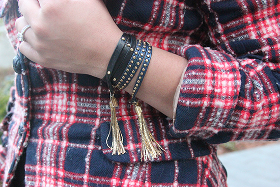 E. Kammeyer Accessories Leather Wrap Tassel Bracelets | Will Bake for Shoes