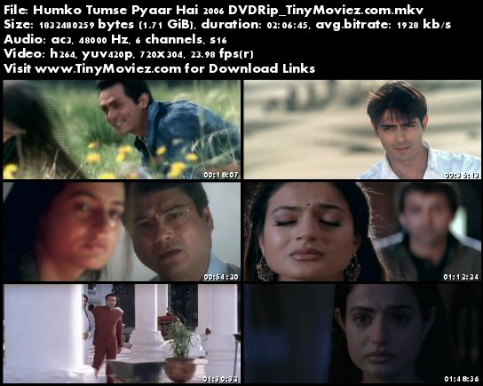 Humko tumse pyaar hai movie songs download free