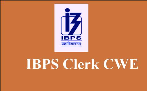 IBPS Clerk Preliminary 2017-18