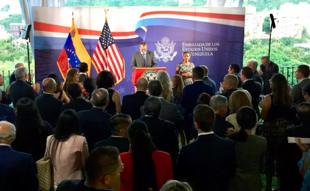 James Story, encargado de negocios de EEUU: Me mantendré junto al pueblo venezolano