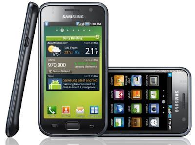 Samsung Galaxy S1 Harga Dan Spesifikasi