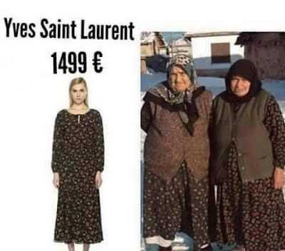 Yves Saint Laurent, moda, ropa, abuelas, vestidos