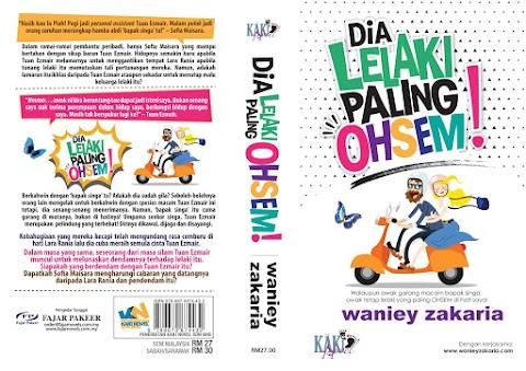 Review ~ Novel Dia Lelaki Paling Ohsem