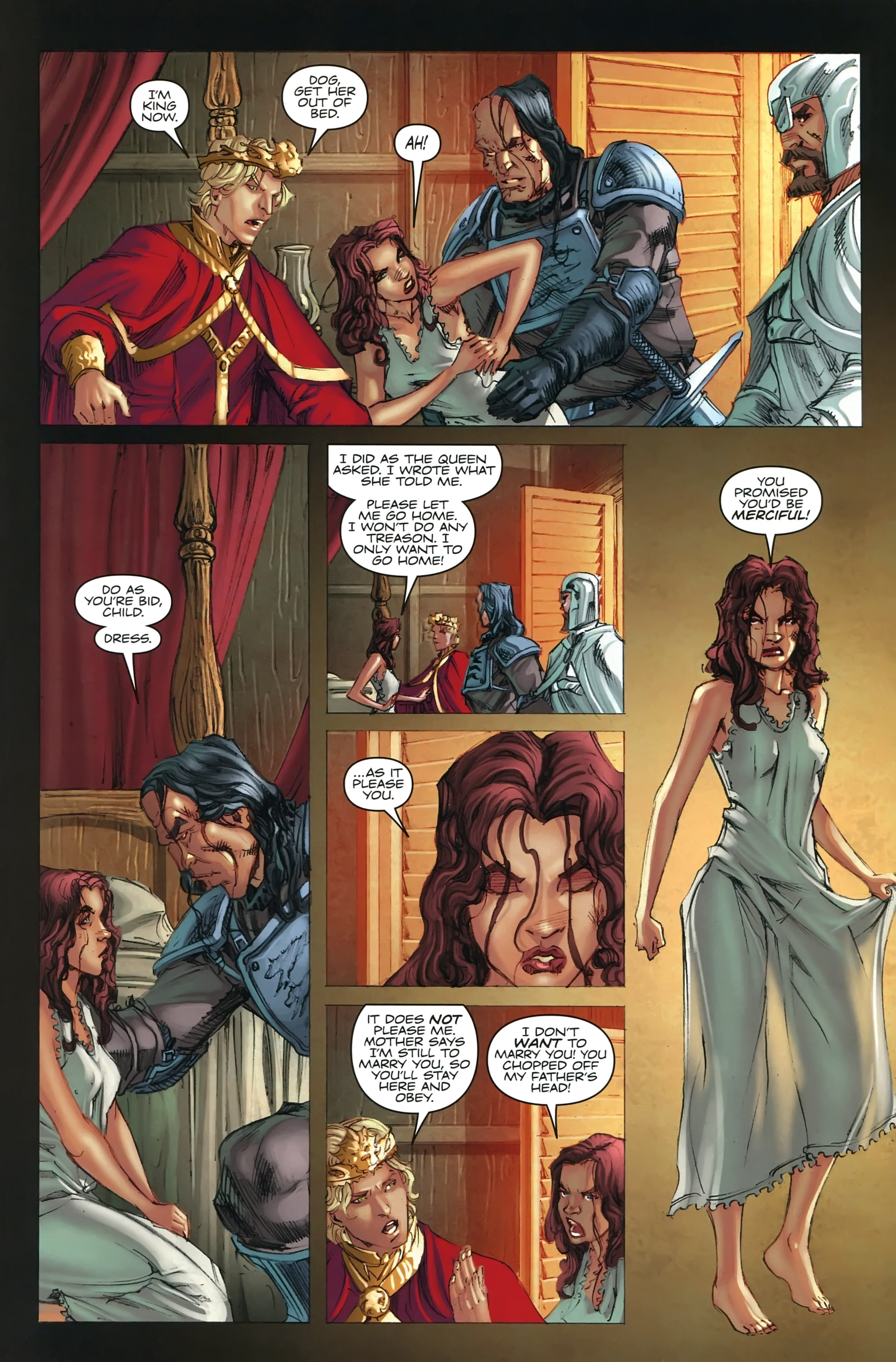 Read online A Game Of Thrones comic -  Issue #22 - 6