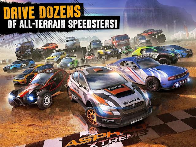 Asphalt Xtreme: Offroad Racing MOD APK Unlocked